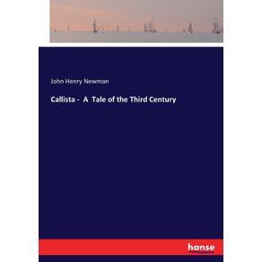 Callista----A--Tale-of-the-Third-Century