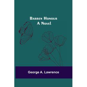 Barren-Honour--A-Novel