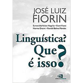 Linguistica--Que-e-isso-