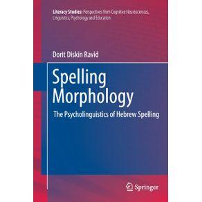 Spelling-Morphology