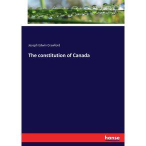 The-constitution-of-Canada