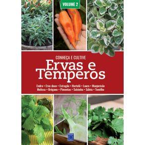 Ervas-e-Temperos--Conheca-e-Cultive---Volume-2