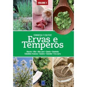 Ervas-e-Temperos--Conheca-e-Cultive---Volume-1