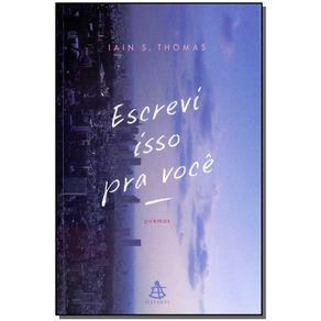 ESCREVI-ISSO-PRA-VOCE