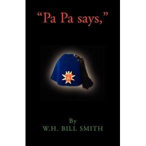 Pa-Pa-says