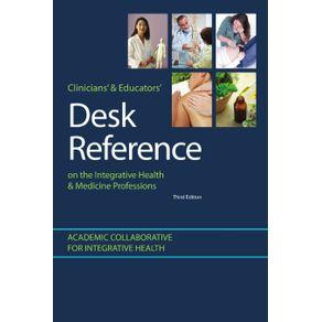 Clinicians---Educators-Desk-Reference-on-the-Integrative-Health---Medicine-Professions