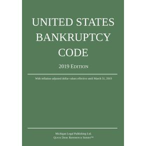 United-States-Bankruptcy-Code--2019-Edition