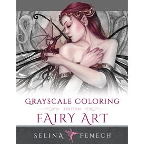Fairy-Art---Grayscale-Coloring-Edition