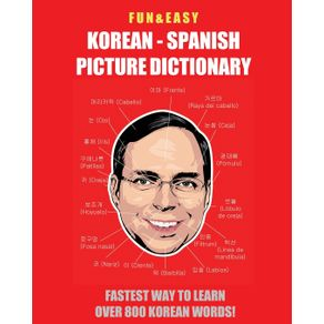 Fun---Easy--Korean---Spanish-Picture-Dictionary