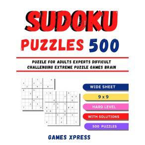 SUDOKU-PUZZLES-500