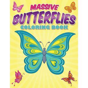 Massive-Butterflies-Coloring-Book