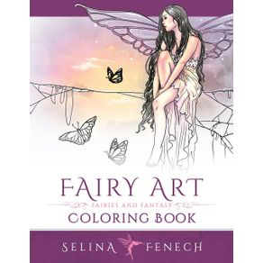Fairy-Art-Coloring-Book