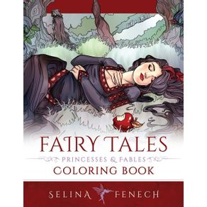 Fairy-Tales-Princesses-and-Fables-Coloring-Book