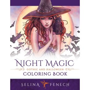 Night-Magic---Gothic-and-Halloween-Coloring-Book