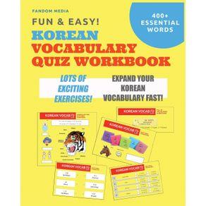 Fun-and-Easy--Korean-Vocabulary-Quiz-Workbook