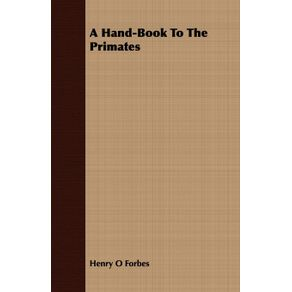 A-Hand-Book-To-The-Primates