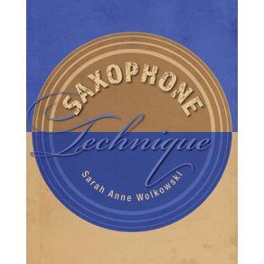 Saxophone-Technique
