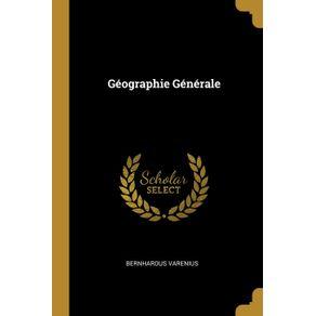 Geographie-Generale
