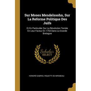Sur-Moses-Mendelssohn-Sur-La-Reforme-Politique-Des-Juifs