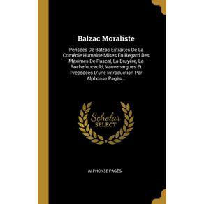 Balzac-Moraliste