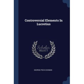 Controversial-Elements-In-Lucretius