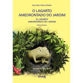 O-lagarto-amedrontado-do-jardim