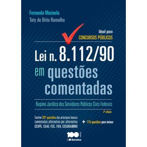 Lei-n.-8.112-90-em-questoes-comentadas--Regime-juridico-dos-servidores-publicos-civis-federais