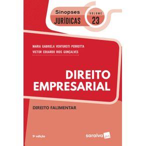 Sinopses-juridicas--V23-Direito-Empresarial--Direito-falimentar---9a-edicao-de-2019