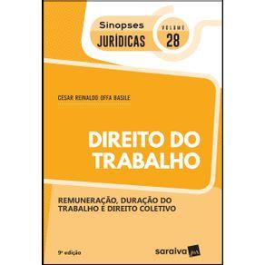 Sinopses-juridicas--V32-Direito-do-trabalho---9a-edicao-de-2019