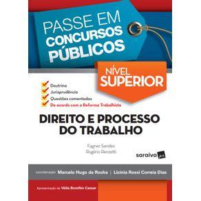 Passe-em-concursos-publicos---Nivel-superior---Direito-e-processo-do-trabalho---1a-edicao-de-2018