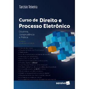 Curso-de-direito-e-processo-eletronico---4a-edicao-de-2018