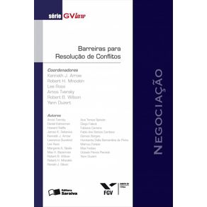 Serie-GvLAW---Barreiras-para-resolucao-de-conflitos---1a-edicao-de-2012