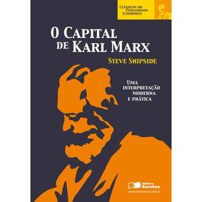 O-capital-de-Karl-Marx--Colecao-Classicos-do-pensamento-economico-