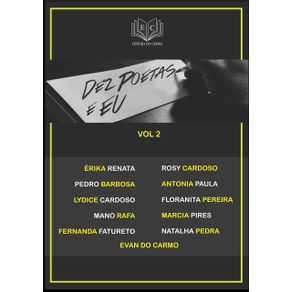 Dez-Poetas-E-Eu-Vol-2--Coletanea-De-11-Poetas
