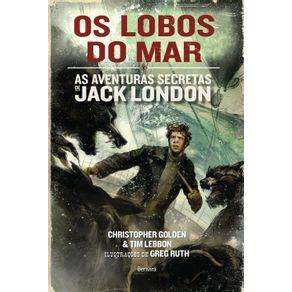 Os-lobos-do-mar--As-aventuras-de-Jack-London---Volume-2-