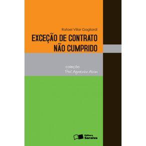 Excecao-de-contrato-nao-cumprido---1a-edicao-de-2012