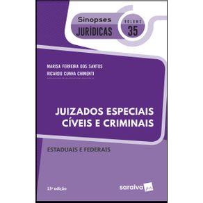 Sinopses-juridicos--V35-Juizados-especiais-civeis-e-criminais-federais-e-estaduais---13a-edicao-de-2019