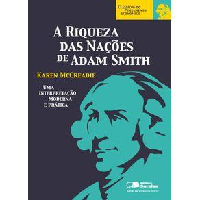 A-riqueza-das-nacoes-de-Adam-Smith--Colecao-Classicos-do-pensamento-economico-