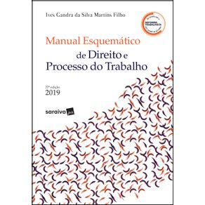 Manual-esquematizado-de-direito-e-processo-do-trabalho---27a-edicao-de-2019