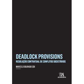 Deadlock-provisions