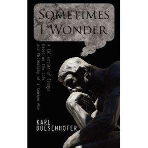 Sometimes-I-Wonder