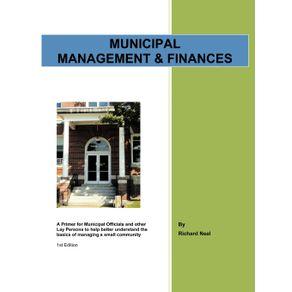 Municipal-Management---Finances
