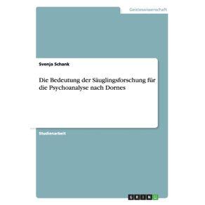 Die-Bedeutung-der-Sauglingsforschung-fur-die-Psychoanalyse-nach-Dornes