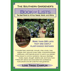 The-Southern-Gardeners-Book-of-Lists