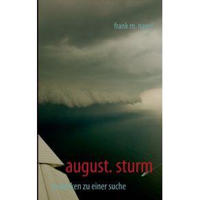 august.-sturm