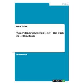 Wider-den-undeutschen-Geist---Das-Buch-im-Dritten-Reich