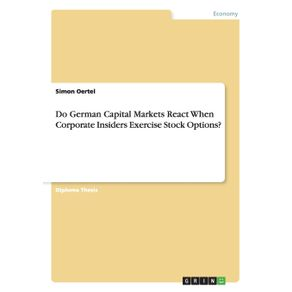 Do-German-Capital-Markets-React-When-Corporate-Insiders-Exercise-Stock-Options-