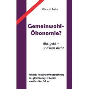 Gemeinwohl-Okonomie-