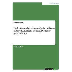 """Ist-der-Vorwurf-des-latenten-Antisemitismus-in-Alfred-Anderschs-Roman-""""Die-Rote-gerechtfertigt-"""