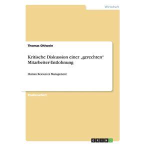 """Kritische-Diskussion-einer-""""gerechten-Mitarbeiter-Entlohnung"""